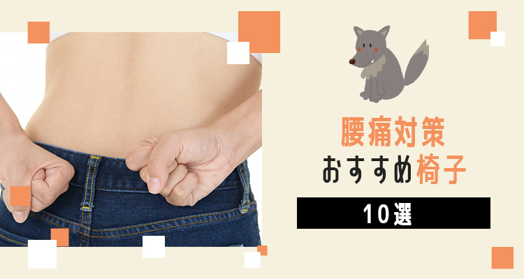 【腰痛対策】在宅ワークにおすすめの椅子10選